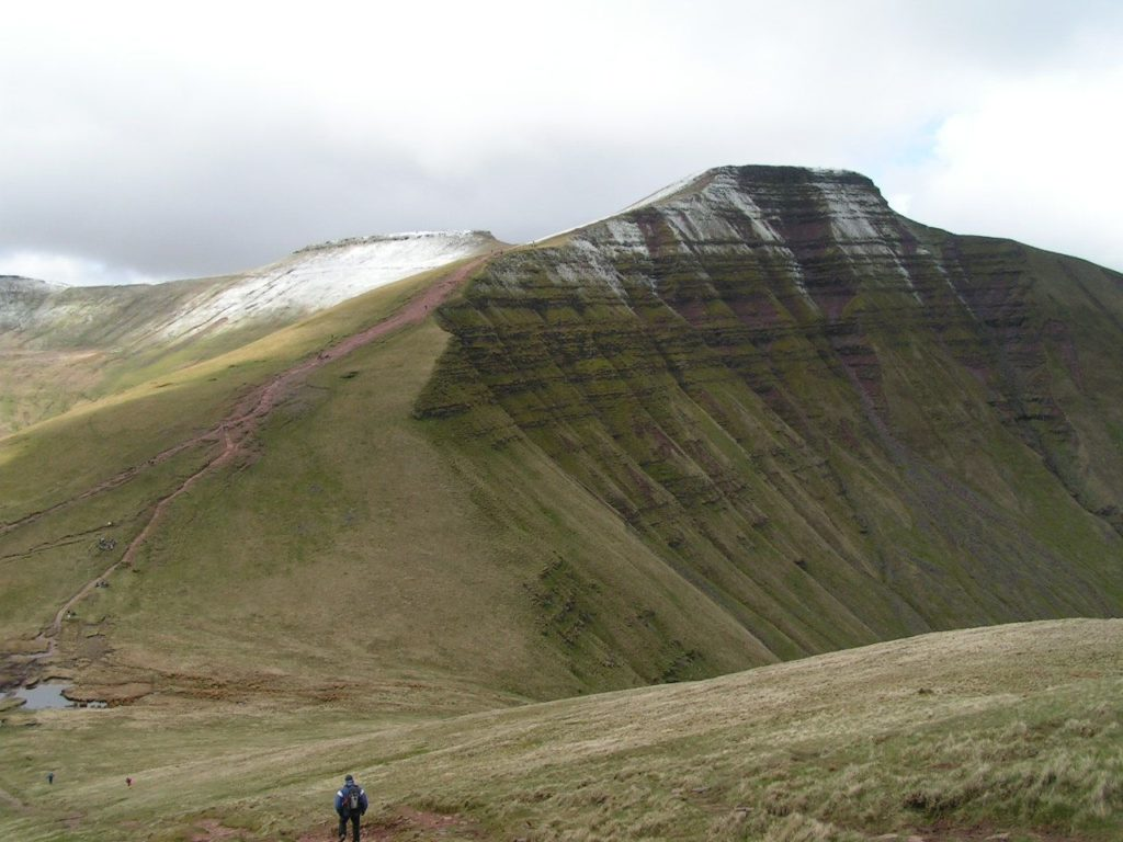 pen y fan, Wales. A hill walk not for the faint of heart.