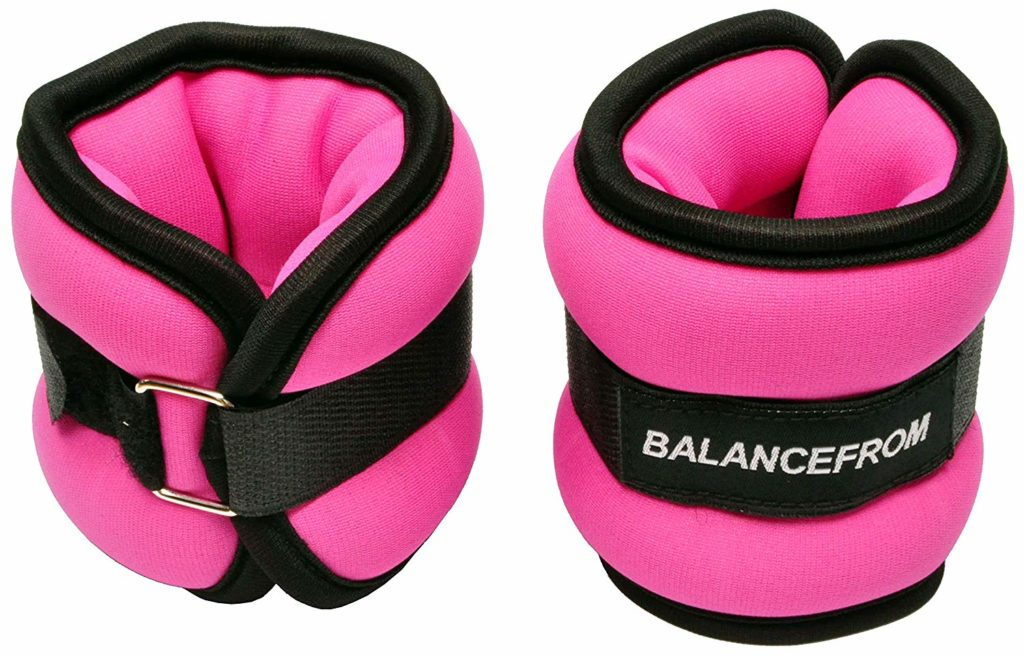 ankle weights for hiking training.
