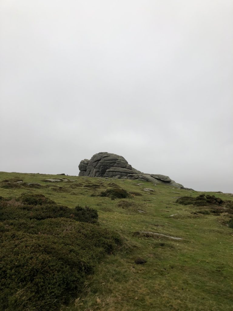 Dartmoor South West England.