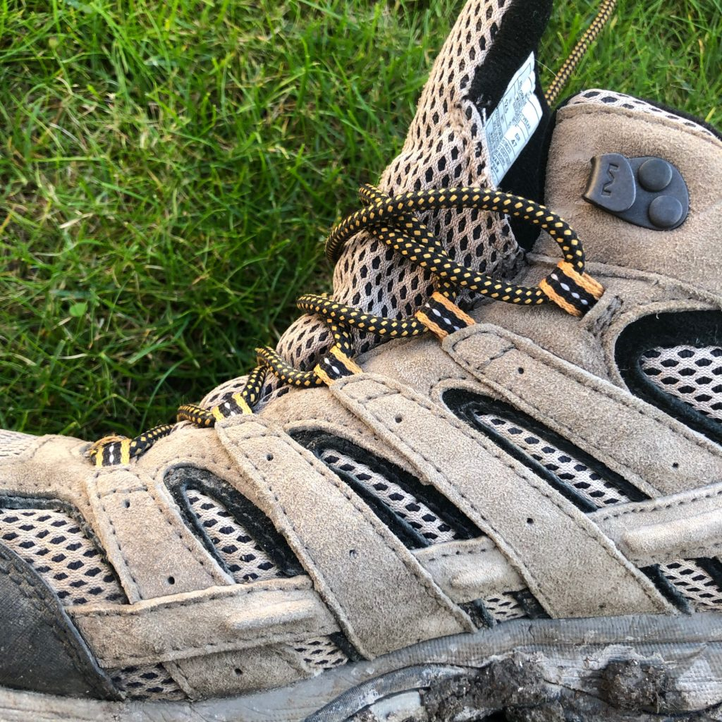 Merrell's simple and effective lacing system