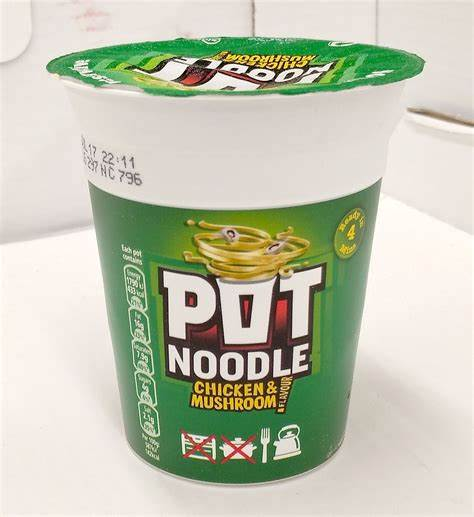 Pot Noodle - foul invention, or candidate for the best hiking snack?