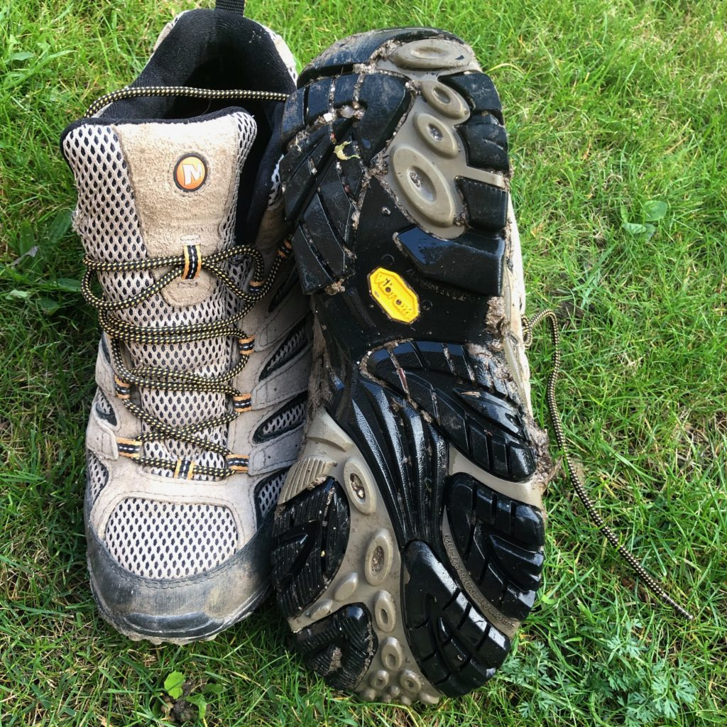 The Moab 2 Vibram soles are hard wearing and durable.