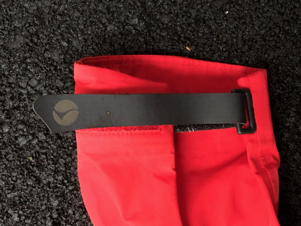 What would a montane alpine endurance jacket review be without pictures of wrist straps?