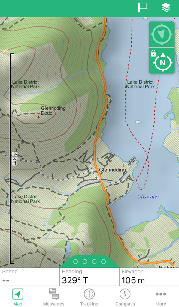 Garmin earthmate - the best hiking app you can download for free.