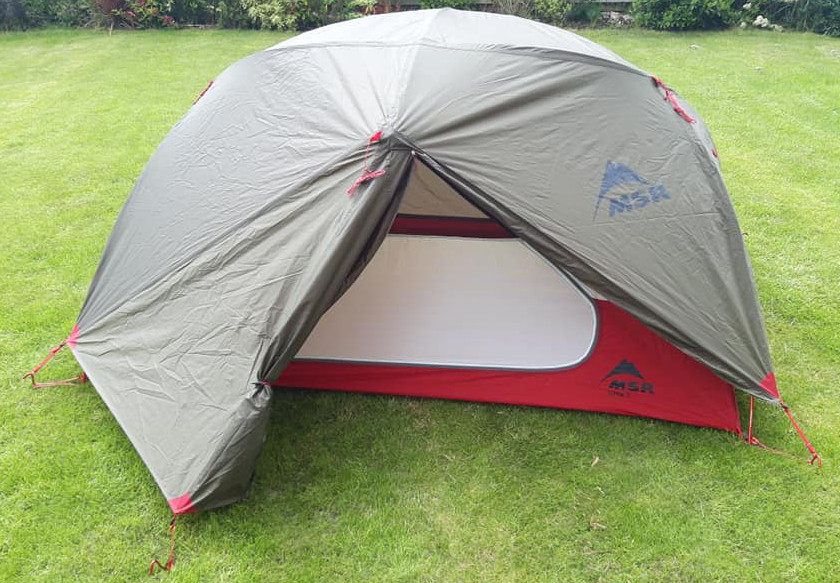 MSR Elixir 2 geodesic tent - the best two person tent for backpackers and hikers.
