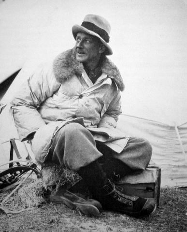 George Finch inventor of the modern down jacket