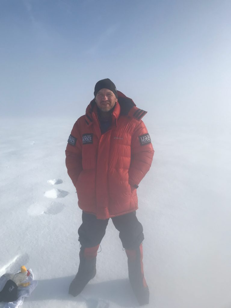 carinthis down jacket used in Greenland
