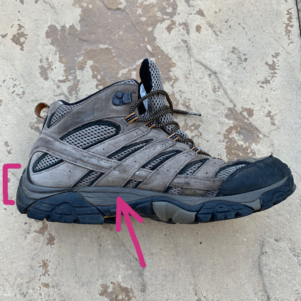 hiking boot midsoles