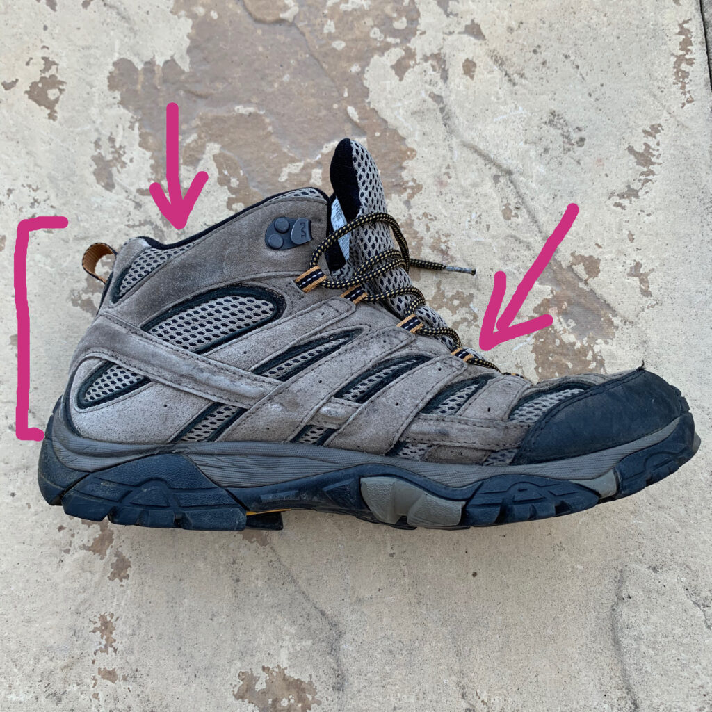 hiking boot uppers