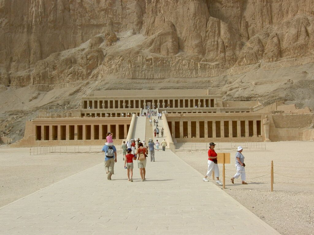 tombs at luxor, egypt